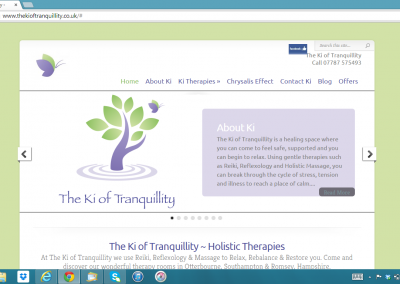 The Ki of Tranquillity